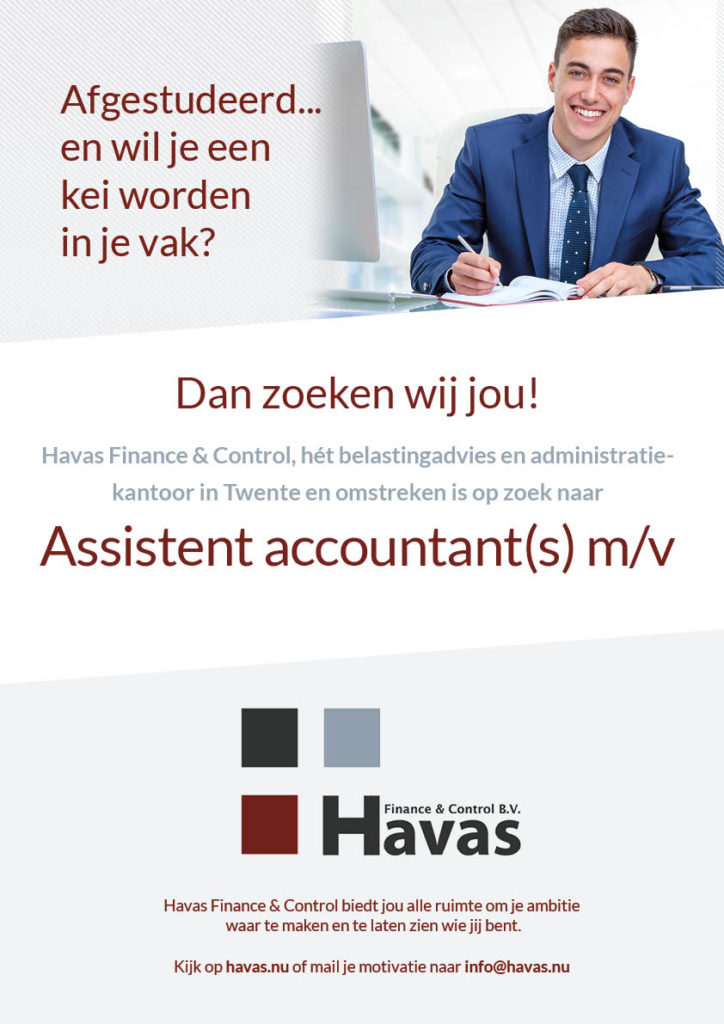 Havas finance & control - vacature Assistent acoountant